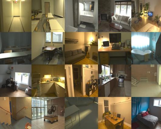 Fast Spatially-Varying Indoor Lighting Estimation